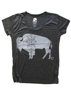BUFFALO LOOSE T | ASH HEATHER, $44.99 by Camp Brand Goods