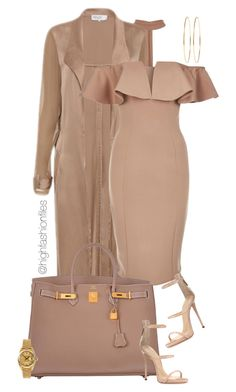 A fashion look from May 2017 by highfashionfiles featuring Rare London, Giuseppe Zanotti, Hermès, Jennifer Meyer Jewelry и Rolex Komplette Outfits, Dressy Outfits, Fashion Outfits, Fashion Trends, Dope Fashion, Fashion Killa, Fashion Looks, Womens Fashion, Look Blazer