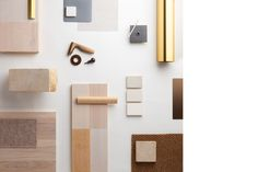Material board of Bishop King Edward Chapel, Oxfordshire  |  Níall McLaughlin Architects, 2013 Stirling Prize Shortlist