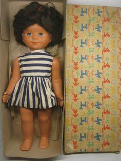 395/16 - STARÁ PANENKA HAMIRO V PŮVODNÍ KRABICI Summer Dresses, Retro, Doll, Vintage, Google, Fashion, Nostalgia, Moda, Summer Sundresses