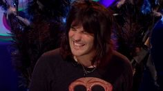 Tatty Devine isn't just for girls! We spotted The Mighty Boosh comedian Noel Fielding in our Bat Necklace: http://www.tattydevine.com/blog/2013/10/noel-fielding-in-tatty-devine-on-tv/