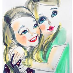 Darling Sisters A Mothers Day Portrait How Cute are they together?▪️▪️▪️#Portrait