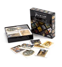 Meninas, palomas, bodegones... Estimula tu memoria emparejando las 20 obras de Picasso de este juego que encontrarás en #LibreríaMPM