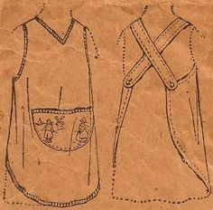Items similar to Little Girls One Piece Vintage Apron Pattern 2613 on Etsy Retro Apron, Aprons Vintage, Sewing Crafts, Sewing Projects, Diy Projects, Modern Aprons, Vintage Sewing Patterns, Apron Patterns, Sewing Aprons