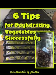 Dehydrating is an easy way to store your food, and it stays good for years! Not to mention it take up very little space! Dehydrated Vegetables, Dehydrated Food, Mixed Vegetables, Fruits And Veggies, Zucchini Gratin, Surimi Recipes, Gratin Dish, Dehydrator Recipes, Grow Your Own Food