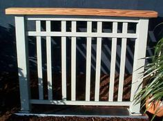 trendy backyard deck railing craftsman style - Home & DIY Craftsman Style Porch, Craftsman Exterior, Craftsman Bungalows, Bungalow Porch, Craftsman Front Porches, Front Porch Railings, Patio Railing, Patio Stairs, Front Stairs
