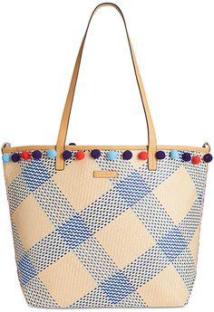 54c4ea62ad Vera Bradley Straw Beach Tote & Reviews - Handbags & Accessories - Macy's