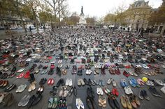 Climate Change Demonstrations Take Place In Paris Ahead of 21st Session Of Conference On Climate Change COP21