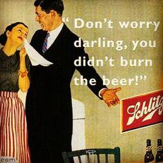 Schlitz Beer | Vintage Ad 1952