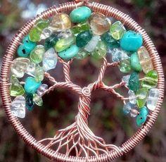 Custom Copper Tree of Life Pendant by Ethora