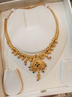 Gold Ring Designs, Gold Bangles Design, Gold Earrings Designs, Gold Jewellery Design, Gold Bridal Earrings, Gold Wedding Jewelry, Gold Jewelry Simple, Gold Necklace, Simple Necklace Designs