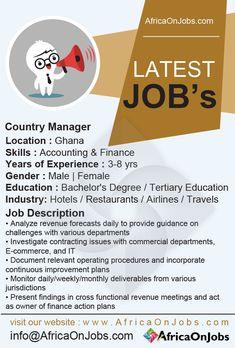 8 Best Jobs In Ghana Ideas Jobs In Ghana Job Ghana