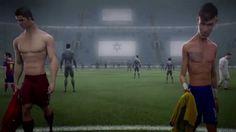 """Comercial da Nike """"O Último jogo"""" é a história do futebol de risco contra o futebol seguro. Com Cristiano Ronaldo, Neymar Jr., David Luiz, Rooney, Zlatan, Iniesta e outros."""