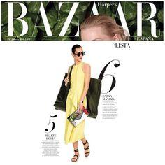 "Great Monday all ready to start the week! | Harper's Bazaar ""La Lista"" June Edition | #YYPress #YYMagazines #YYHandbags #YYScarlett #YYToucan #YYRiviera #fun"