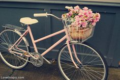 Bikes With Baskets Vintage Bike with Basket
