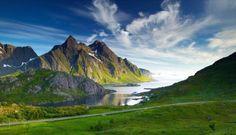 fotos de paisajes de montaña cesped