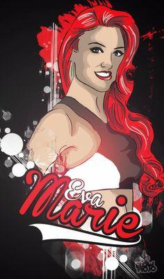Eva Marie by @Weird Maddoxed