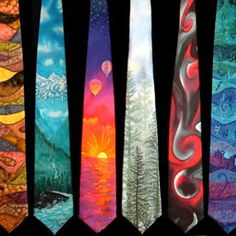 Tie paintings could be cool maybe?