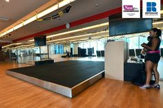 Neoflex Reco Series Rubber Fitness Flooring @ Pure Fitness, Singapore