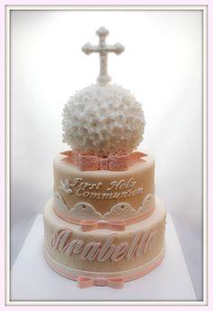 First communion cake: