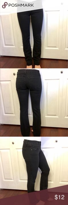 Black Jeans Black boot cut jeans with stretch! Very cute! Mid rise. Jeans Boot Cut