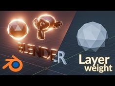 How to Create a Layer Weight Node in Blender Eevee - YouTube Blender 3d, Layers, Blender Tutorial, Modeling Tips, 3d Tutorial, Zbrush, Create, Product Design, Digital Art
