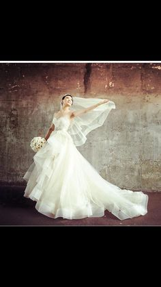 Classic and timeless Wedding dress by from Shoes Crown Wedding planner  Flowers photo by by coutureweddingplanning 9feb31208