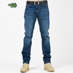 >> Click to Buy << Jeans Men UDARNIK Brand  Four Seasons Casual Jeans Homme  Male Long Trousers Straight Cotton Men's Balmai Denim #Affiliate