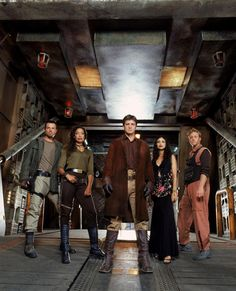 """""""That was a project that lived for so short a time, and such a long time ago, I would look at that as an impossibility,"""" Nathan Fillion says of Joss Whedon making a """"Serenity or other """"Firefly"""" sequel. Firefly Serenity, Joss Whedon, Geeks, Firefly Cast, Firefly Jayne, Firefly Series, Adam Baldwin, Westerns, 10 Years"""