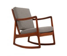 Ole Wanscher Rocking Chair For France U0026 Son. Midcentury ...