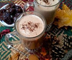 Creamy Raw Vegan Nog - Just Glowing with Health - Raw Food Diet, Natural Recipes, and More!