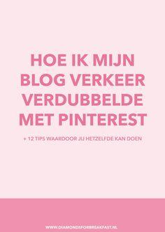 Wil je meer bezoekers op je blog? Wil je dat meer mensen je blog lezen? Ontdek hoe je met Pinterest je blog verkeer kan laten groeien.