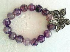 Online at Treasures to Treasure Butterfly Bracelet Butterfly Bracelet, Charmed, Jewels, Bracelets, Jewerly, Bracelet, Gemstones, Fine Jewelry, Gem