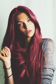 Dark burgundy hair color. I love it. I will be dying my hair real soon