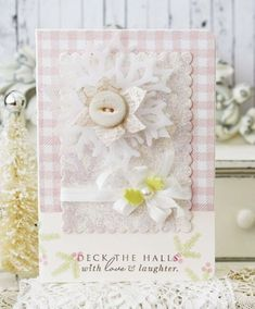 Deck The Halls Card by Melissa Phillips for Papertrey Ink (September 2014)