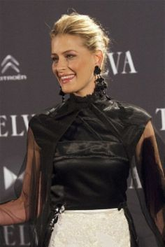 Princess Tatiana of Greece and Denmark attends Telva Fashion Awards 2013 at Palacio de Cibeles in Madrid, Spain
