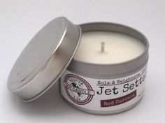Red Currant scented candles hand poured in by NolaAndNeighbors