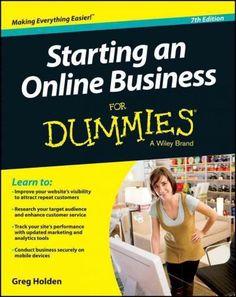 Starting an Online Business for Dummies