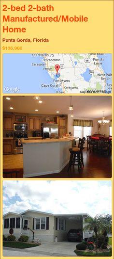 2-bed 2-bath Manufactured/Mobile Home in Punta Gorda, Florida ►$136,900 #PropertyForSale #RealEstate #Florida http://florida-magic.com/properties/86364-manufactured-mobile-home-for-sale-in-punta-gorda-florida-with-2-bedroom-2-bathroom
