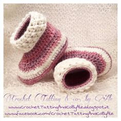 Baby shoes baby booties crochet wool booties by CrochetTattingByAle #italiasmartteam #etsy