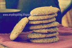 anyahajó: Mákom volt Cookies, Food, Crack Crackers, Biscuits, Cookie Recipes, Meals, Cake, Yemek, Cookie