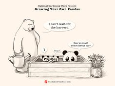 Panda and Polar Bear » National Gardening Week Project: Growing Your Own Pandas