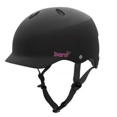 Bern Lenox for chicks. Snowboarding and biking, meets eps standards too! My husband makes me wear a helmet, it may as well be cute!