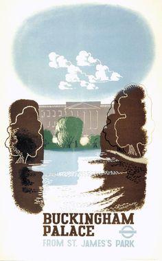 London Underground poster 1936, Edward McKnight Kauffer