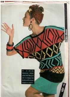 Intarsia Knitting, Plaid Pattern, Afro, Blouse, Crochet, Women, Fashion, Ladies Capes, Tejidos