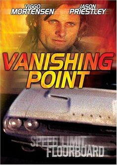 Watch Free Movies Online Vanishing Point When his wife goes into a troubled labor while he is on the road over 1200 miles away James Kowalski, an ex race car driver and a former Army Ranger, attempts to elude police while trying . Vanishing Point Movie, Film Cars, Movie Cars, David Keith, David Jason, Critique Film, Jason Priestley, Viggo Mortensen, Weird Stories