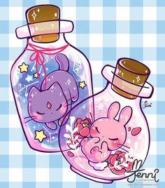 Art New Drawing Kawaii Animals Heart Ideas Cute Kawaii Drawings, Kawaii Doodles, Cute Doodles, Cute Drawings Of Animals, Drawing Animals, Pokémon Kawaii, Kawaii Anime, Anime Chibi, Anime Art