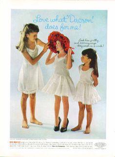 Cute little girls in Her Majesty #lingerie #slips ad