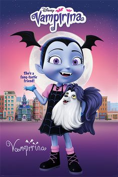 Buy Vampirina Maxi Poster - Fang-tastic online and save! Vampirina Maxi Poster – Fang-tastic Maxi Poster 61 × Our posters are rolled, wrapped and shipped in poster mailing tubes Pictures To Paint, Print Pictures, Animal Pictures, Framed Maps, Framed Art Prints, Poster Prints, Disney Posters, Disney Cartoons, Antique World Map