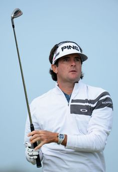 Bubba Watson Bubba Watson of the United States hits a shot on the 4th ...